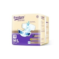 Adult Tape Diapers M/L 12 's