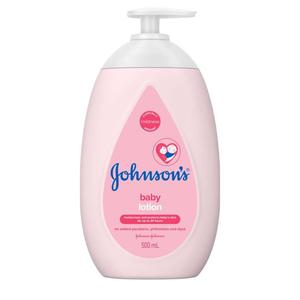 JOHNSON'SBaby Lotion 500ml,MBR ECOM ADD 10% OFF MAY21MBR ECOM ADD 10% OFF MAY21