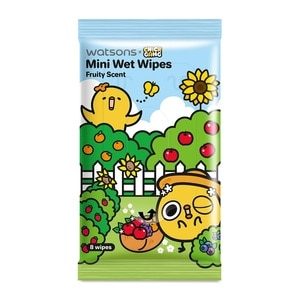 WATSONSCHICK GANG MINI WET WIPES FRUITY SCENTED,ECOUPON RM10 OFF ECOMECOUPON RM7 OFF ECOM