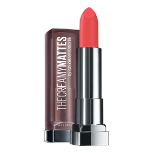 MAYBELLINEThe Creamy Mattes Lipstick 635 Rock The Coral 1's,ECOUPON RM10 OFF ECOMECOUPON RM7 OFF ECOM