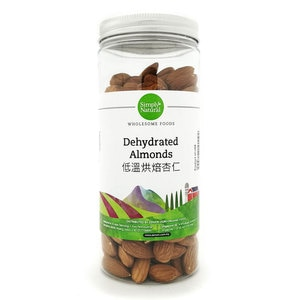 SIMPLY NATURALDehydrated Almonds 230g,ECOUPON RM13 OFFPWP @ RM12.80 IS
