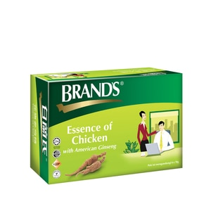 BRANDSEssence Of Chicken With American Ginseng 6 x 70g,UnpublishedMBR ECOM ADD 10% OFF MAY21