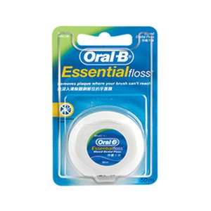 ORAL-BEssential Waxed Dental Floss 50m,ECOUPON RM13 OFF