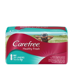 CAREFREEHealthy Fresh Pantyliner 20's,PWP @ 30% AUG