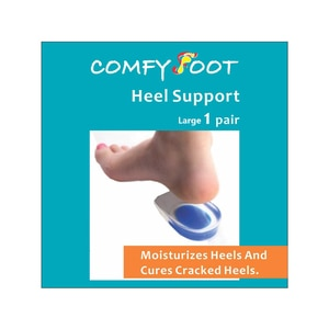COMFY FOOTHeel Support Large 1 Pair 1's,ECOUPON RM13 OFFECOUPON RM13 OFF