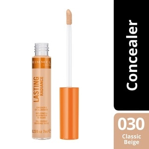 RIMMELLasting Radiance Concelear 030 Classic Beige 1's,VOUCHER RM5 OFF COSMETICVOUCHER RM5 OFF COSMETIC