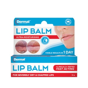 DERMAL THERAPYLip Balm Therapy 10g,Lip Balm & TreatmentsMBR FREE HOME DELIVERY (EM)