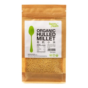 SPOON HEALTHOrganic Hulled Millet 250g,GET 2X POINTS MAY TMPGET 2X POINTS MAY TMP