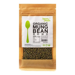 SPOON HEALTHOrganic Mung Bean 250g,GET 2X POINTS MAY TMPGET 2X POINTS MAY TMP