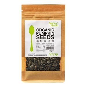 SPOON HEALTHOrganic Pumpkin Seeds 180g,GET 2X POINTS MAY TMPGET 2X POINTS MAY TMP