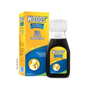 WOOD'SPeppermint Syrup Adult 50ml,ECOUPON RM13 OFF