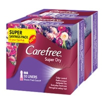 Super Dry Shower Fresh Scent Liners 2x50s
