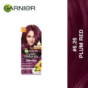 GARNIER HAIR COLORUltra Color 6.26 Plum Red 1S,VOUCHER RM5 OFF GARNIERVOUCHER RM5 OFF GARNIER