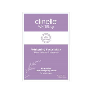 CLINELLEWhiten Up Facial Mask 1's,MasksMBR ECOM ADD 10% OFF MAY21