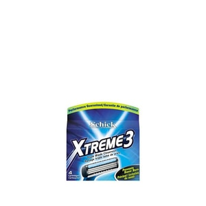 SCHICKXtreme 3 Refill 4's,MBR ECOM ADD 10% OFF MAY21MBR ECOM ADD 10% OFF MAY21