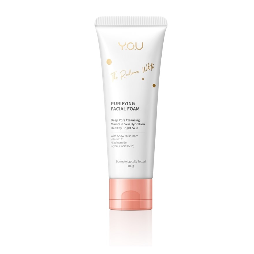 The Radiance White Purifying Facial Foam 100g