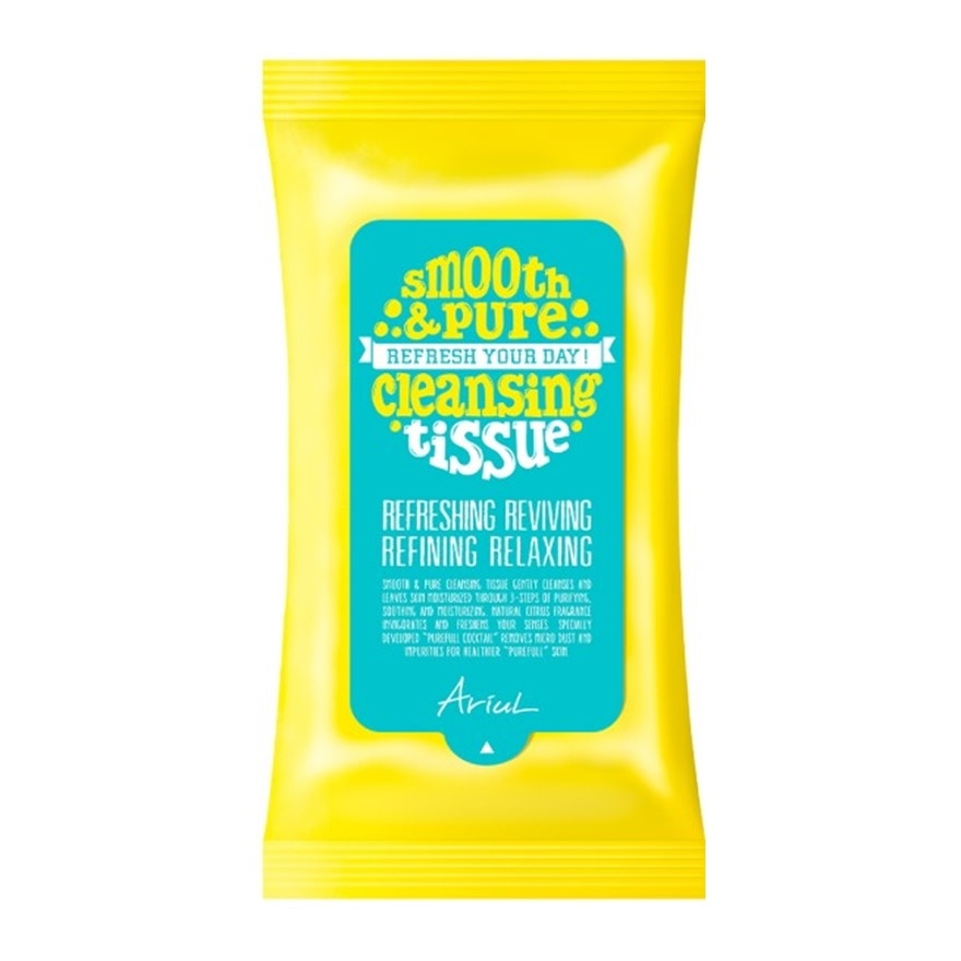 Smooth & Pure Cleansing Tissue 15S