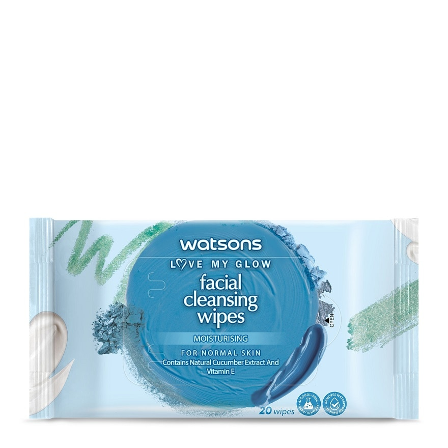 Moisturising Facial Cleansing Wipes 20S