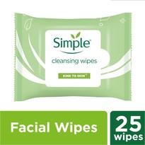 Kind to Skin Cleansing Facial Wipes 25's