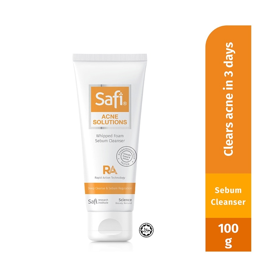 Acne Solution Whipped Cleanser 100g