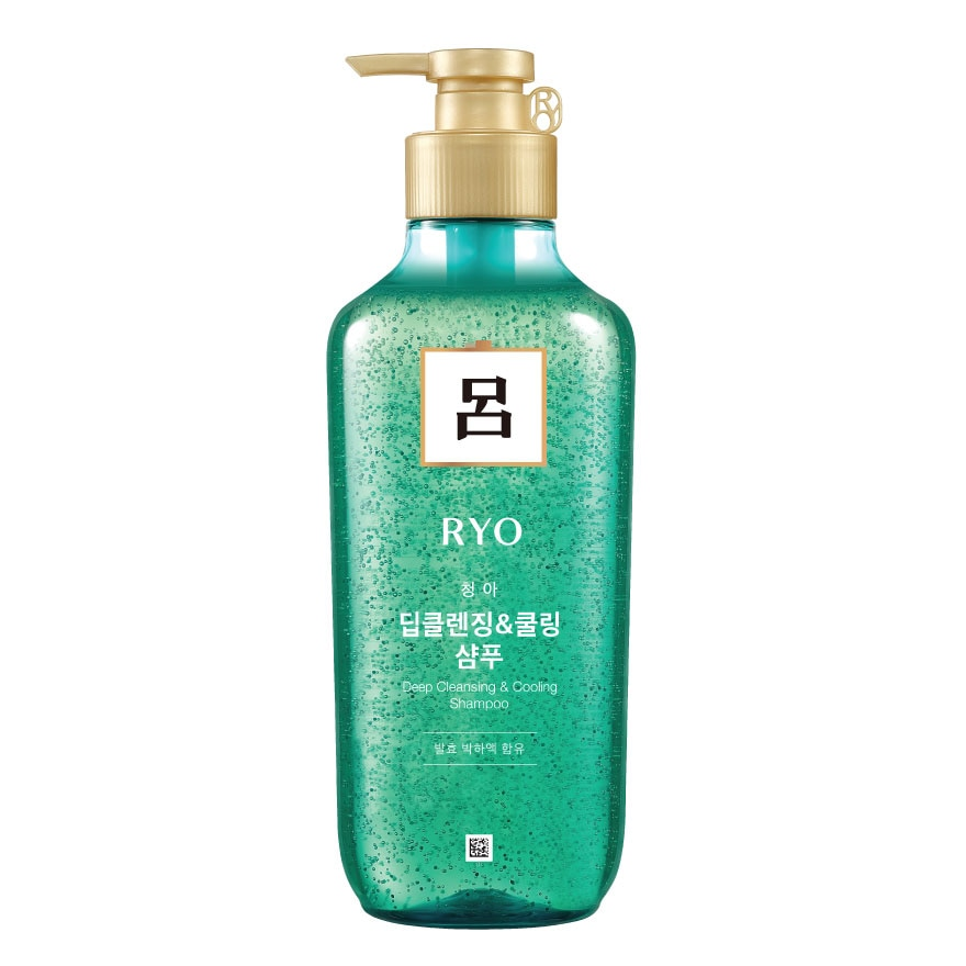 Deep Cleansing & Cooling Shampoo 400ml