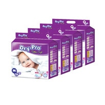 Ultra Soft Baby Tapes Diapers M 74's X 4