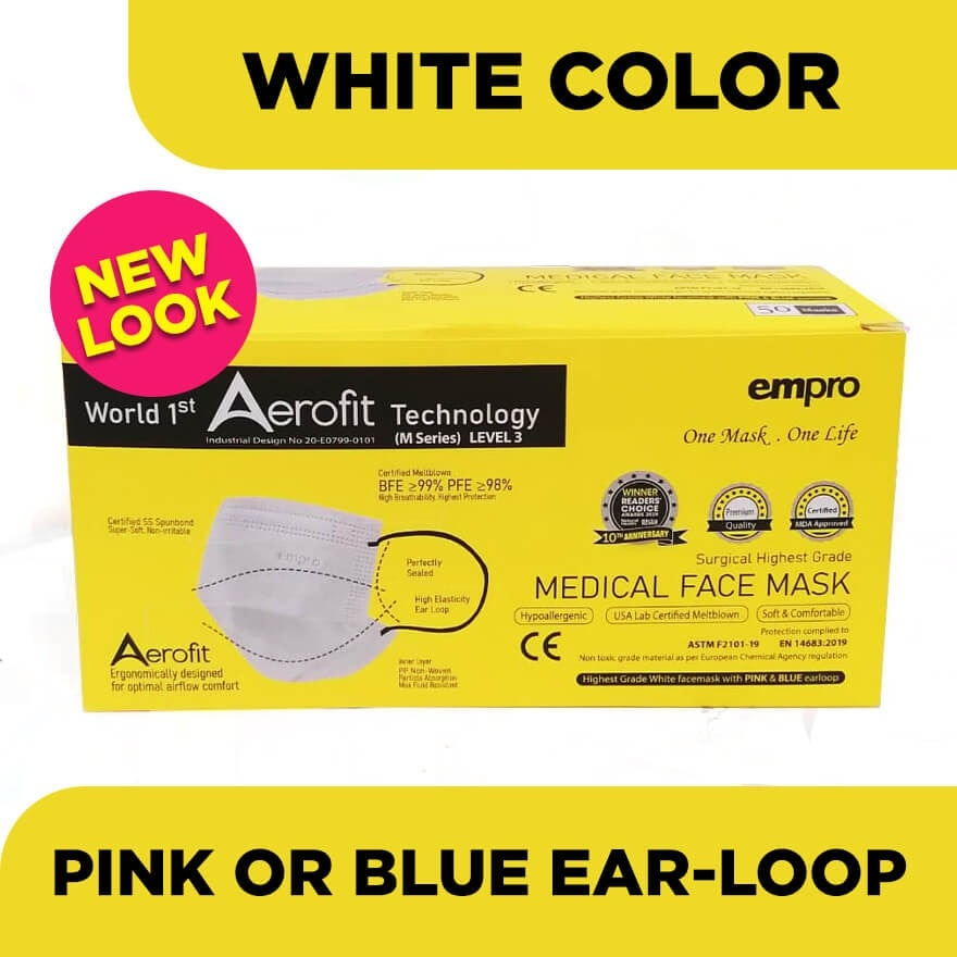 3Ply Medical Facemask 50's