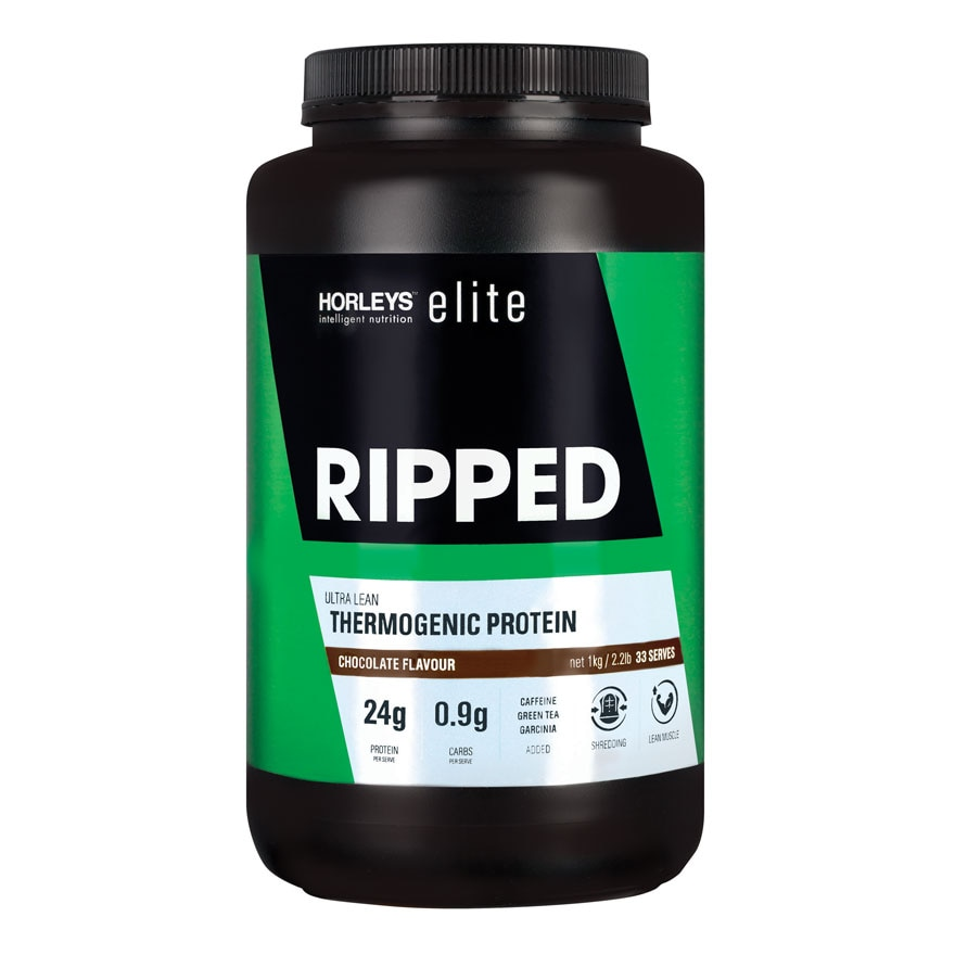 Elite Ripped Thermogenic Protein Chocolate 1kg