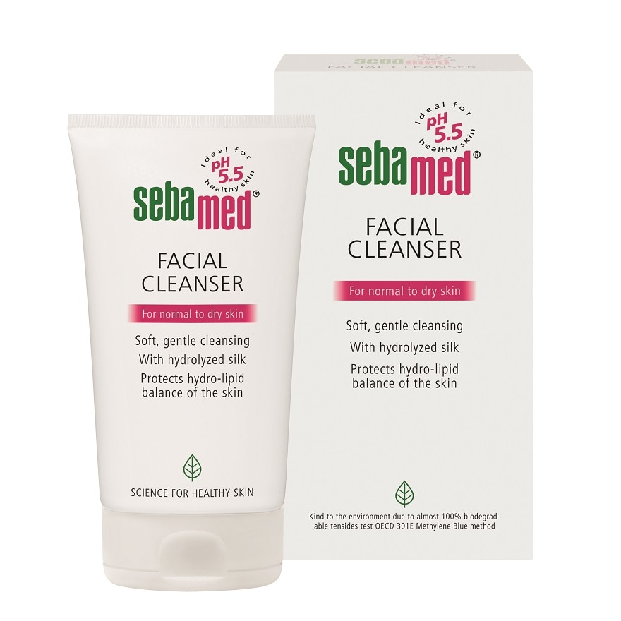 FACIAL CLEANSER FOR DRY SKIN 150ML
