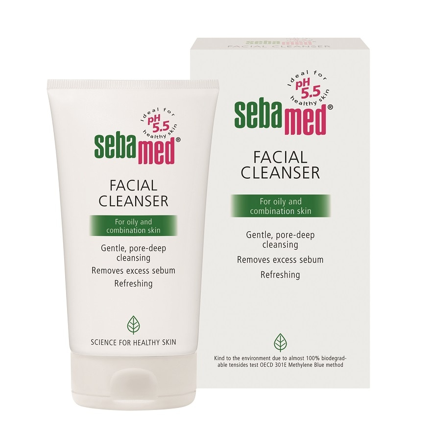 FACIAL CLEANSER FOR OILY SKIN 150ML