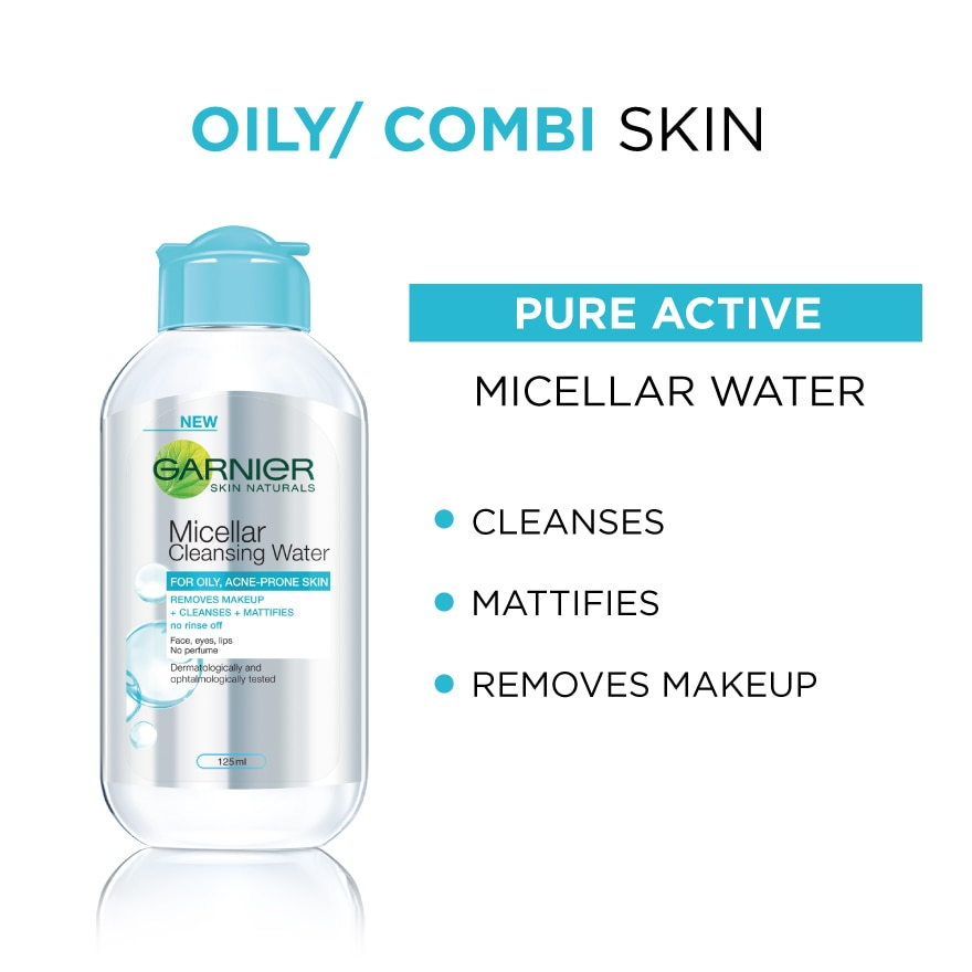 Pure Active Micellar Cleansing Water 125ml