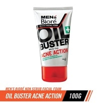 Oil Buster Acne Action White Clay Facial Foam 100g