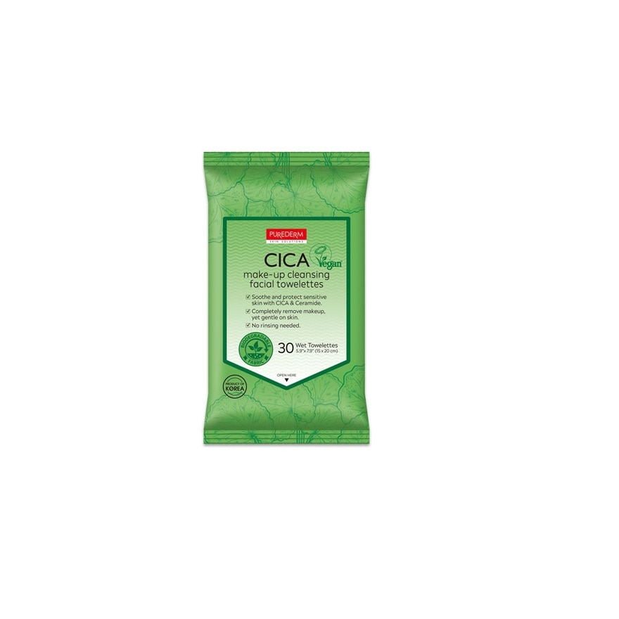 Cica Make-Up Cleansing Facial Towelettes 30S