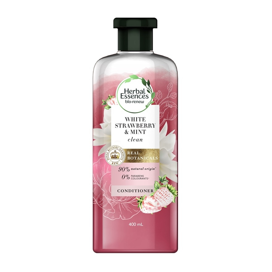 White Strawberry & Sweet Mint Conditioner 400ml