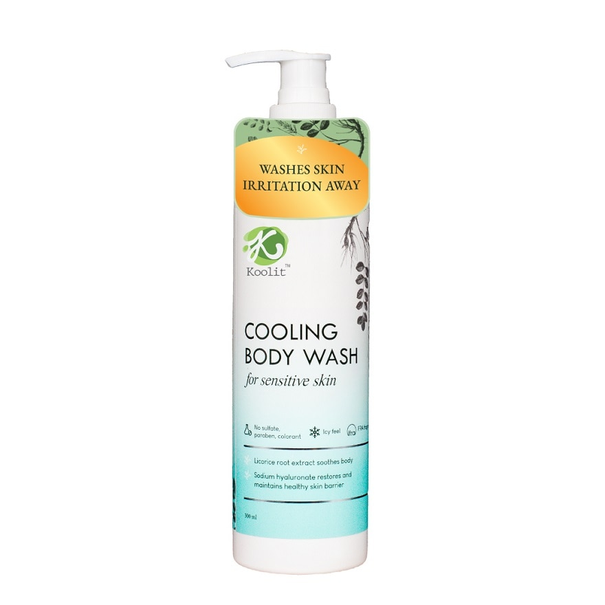 Cooling Body Wash 300ml