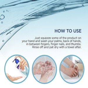 SAFEGUARDLiquid Hand Soap Pure White Bottle Refill 200ml,ANY 3 @ 5% ECOMECOUPON RM13 OFF