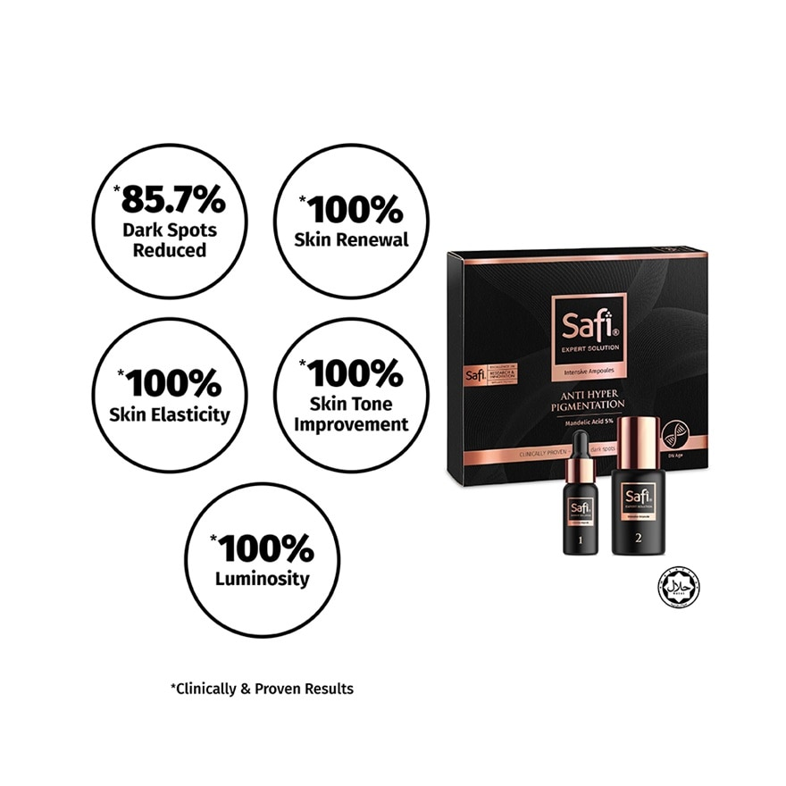 SAFIExpert Solution Intensive Ampoules 42g,MEMBER @ 5% AUGMEMBER @ 5% AUG