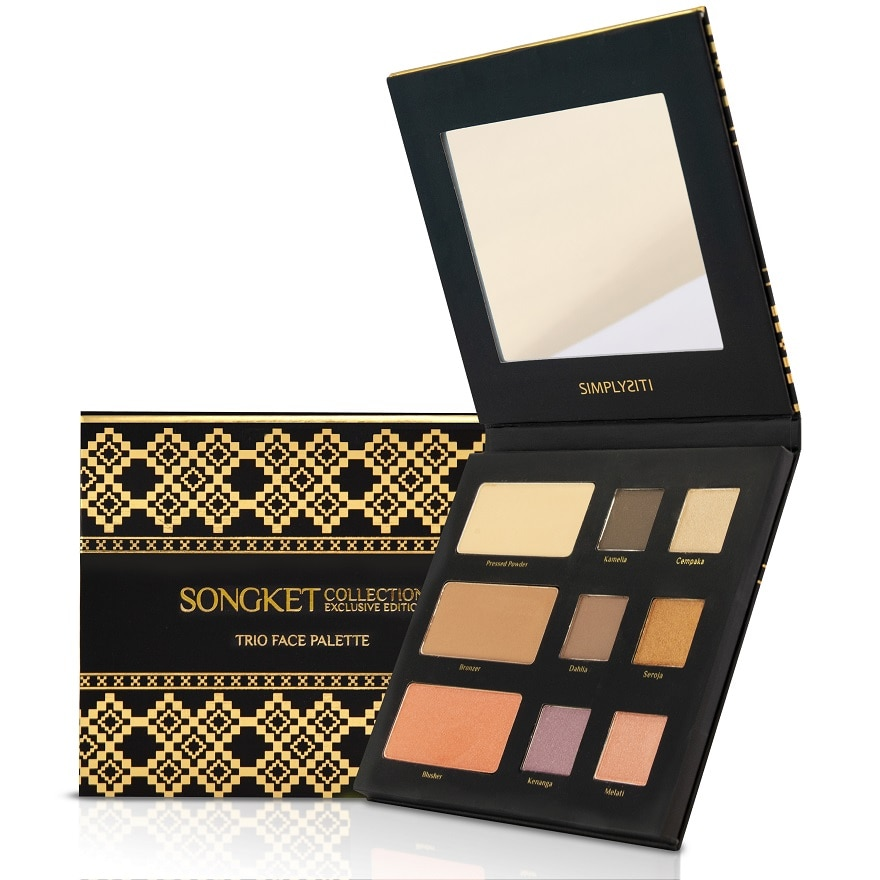 SIMPLYSITITrio Face Palette Dang Wangi Natural Beige CSF02,VOUCHER RM5 OFF COSMETICVOUCHER RM5 OFF COSMETIC