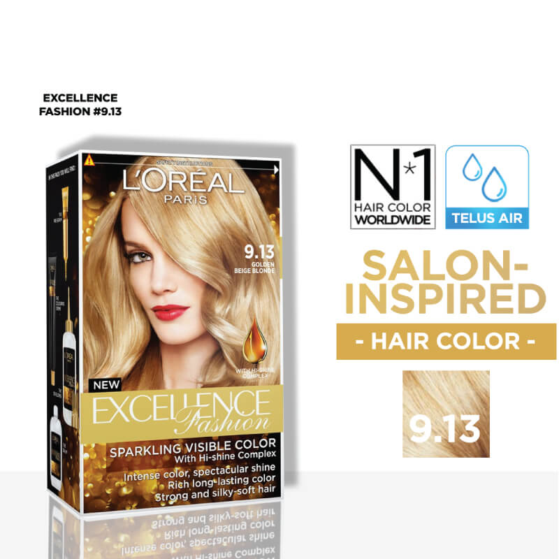 EXCELLENCEExcellence Fashion 9.13 Golden Beige Blonde 1's,ECOUPON RM10 OFF ECOMECOUPON RM7 OFF ECOM