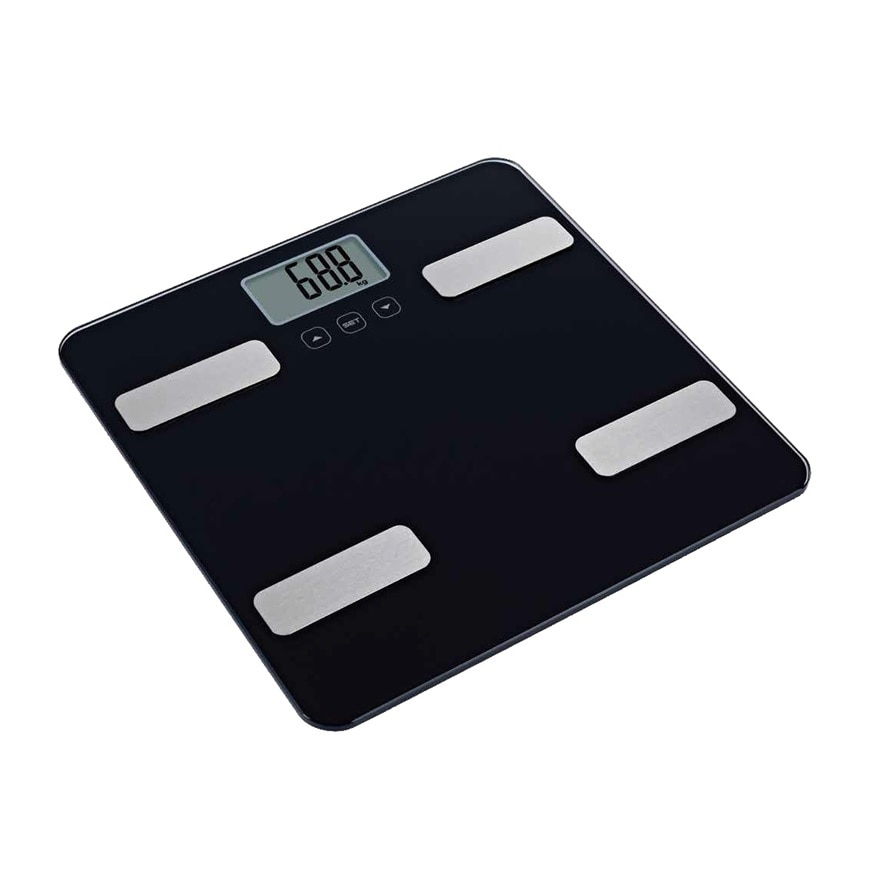 WATSONSBody Fat Scale Black,ECOUPON RM8 OFF DECPOINT REDEMPTION