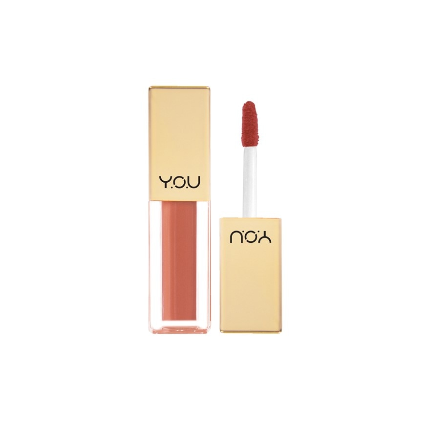 Y.O.URouge Satin Lip Cream 07 Persimmon Peach,ECOUPON RM8 OFF DECPOINT REDEMPTION