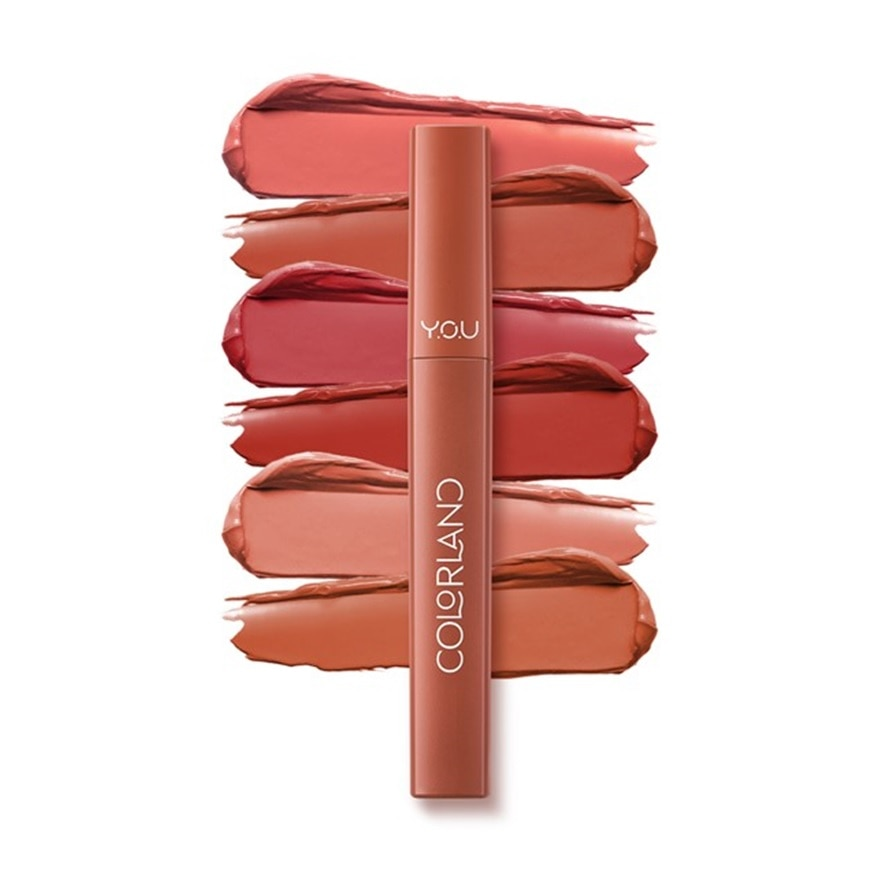 Y.O.UColorland Powder Mousse Lip Stain Nude Tangerine,VOUCHER RM5 OFF COSMETICVOUCHER RM5 OFF COSMETIC