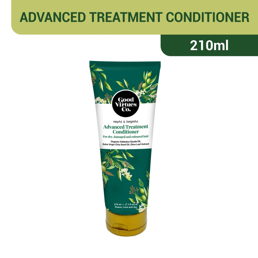 GOOD VIRTUES COAdvanced Treatment Conditioner For dry damage Colo,GET 8X POINTS MAR TMPGWP SUNSILK S.SHAMPOO 100ML ECOM