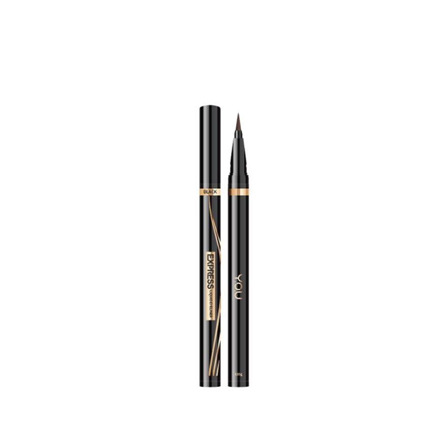 Y.O.UExpress On Point Eyeliner 01 Black,ECOUPON RM8 OFF DECPOINT REDEMPTION