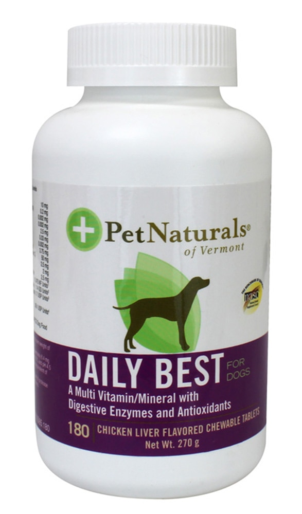PET NATURALSDaily Best Dogs 180 Chewable Tablets,MBR FREE HOME DELIVERY (EM)MBR ECOUPON RM50 OFF JUN