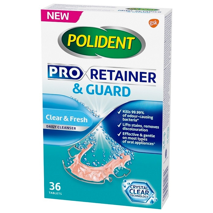 POLIDENTPOLIDENT PRORETAINER & GUARD DAILY CLEANSER 36S,VOUCHER RM3 OFF POLIDENTVOUCHER RM3 OFF POLIDENT