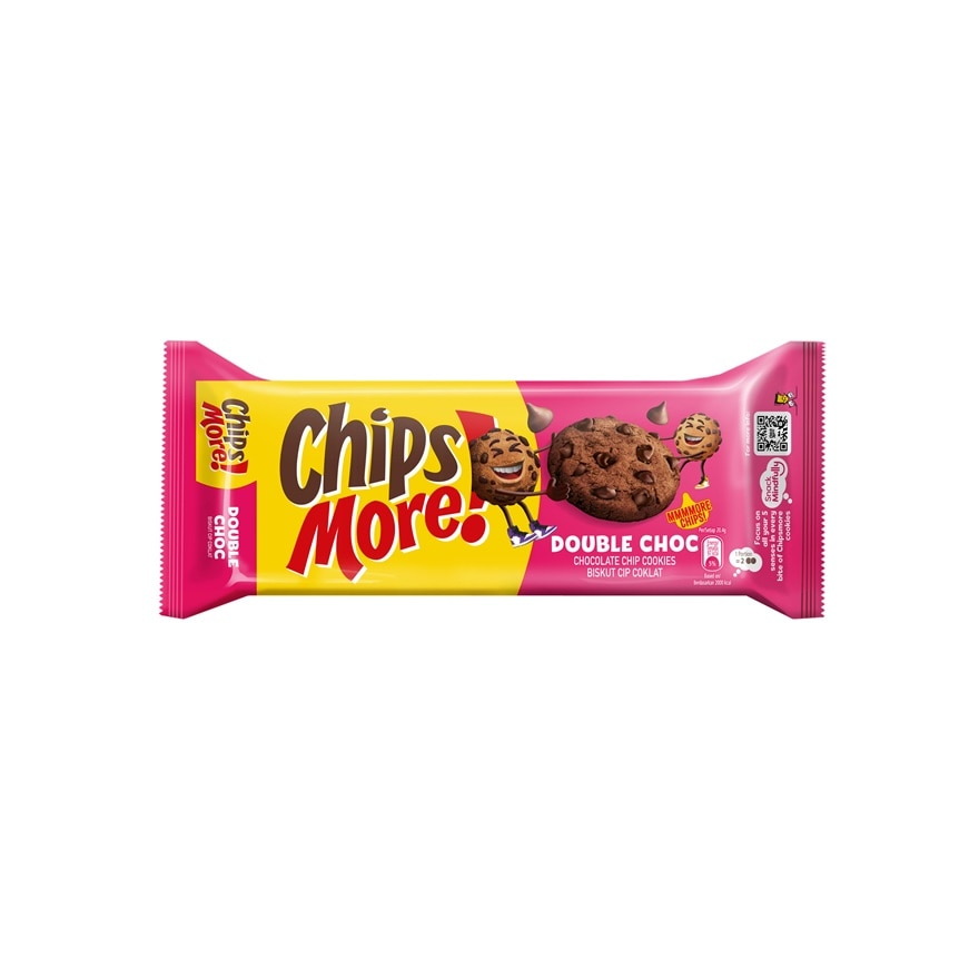 CHIPSMOREDouble Chocolate Chips Biscuit 163.2g,UnpublishedPOINT REDEMPTION