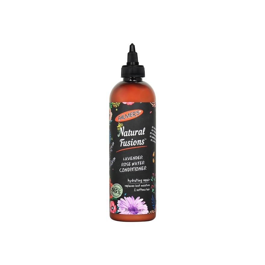 PALMER'SNatural Fusions Lavender Rose Water Conditioner 350ml,MEMBER @ RM48 AUGMEMBER @ RM48 AUG