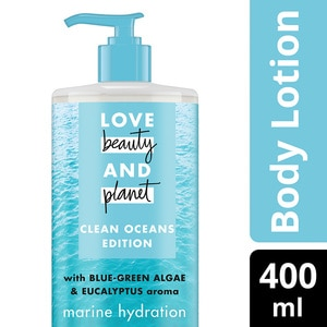 LOVE BEAUTY & PLANETMarine Hydration Body Lotion 400ml,POINT REDEMPTIONFREE GIFT