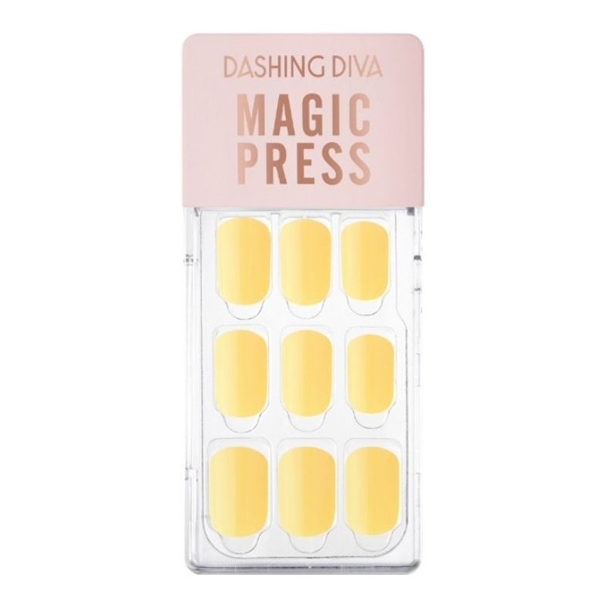 DASHING DIVAMP Yellow Spring Mani Cheese Yellow MWK098RR,VOUCHER RM5 OFF COSMETICVOUCHER RM5 OFF COSMETIC